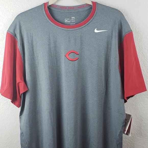 e204eb9c4 Nike Shirts | Drifit Nwt Cincinnati Reds Xxl | Poshmark